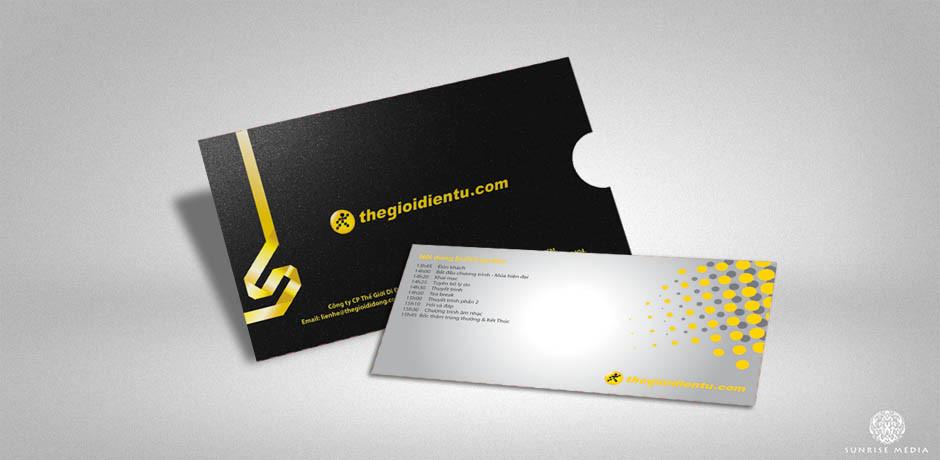 In ấn phẩm văn phòng, card, phong bì điện thoại