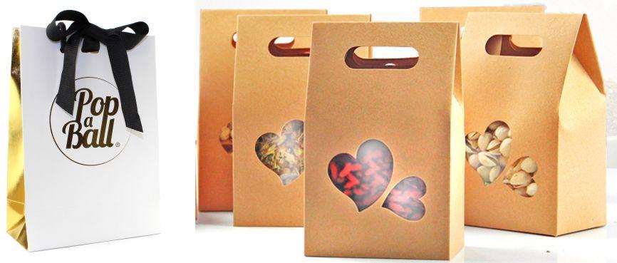 Nhân Phúc in sản xuất túi giấy đựng quà tặng khai trương khánh thành tân gia sinh nhật cưới hỏi