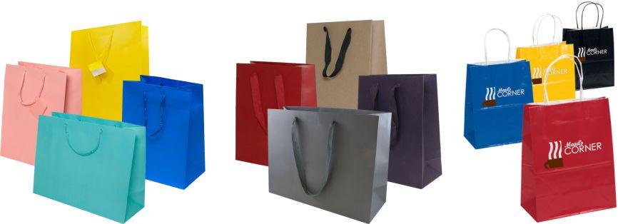 Nhân Phúc in sản xuất túi giấy quảng cáo hàng hóa dịch vụ nhãn hiệu thị trường