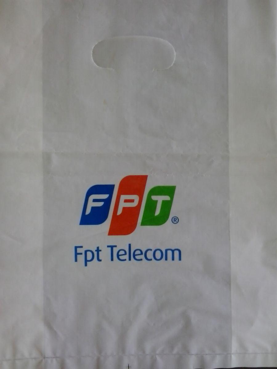 in túi nylon HD trắng sứ dùng cho cửa hàng điện thoại