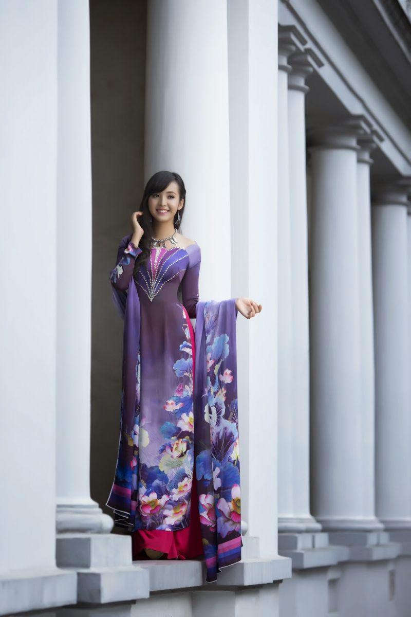 thiết kế in áo dài giá đẹp hấp dẫn tốt nhất hà nội