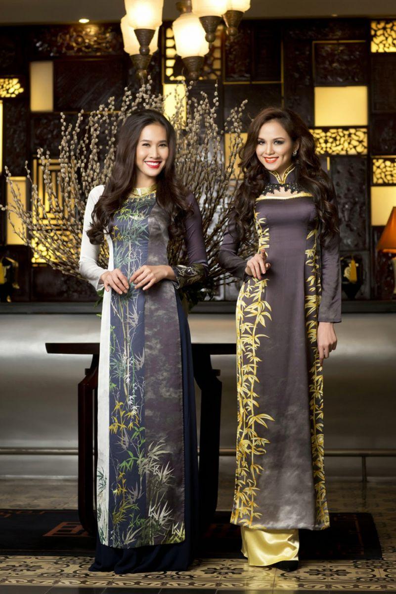 in áo dài đẹp cho cửa hàng thời trang