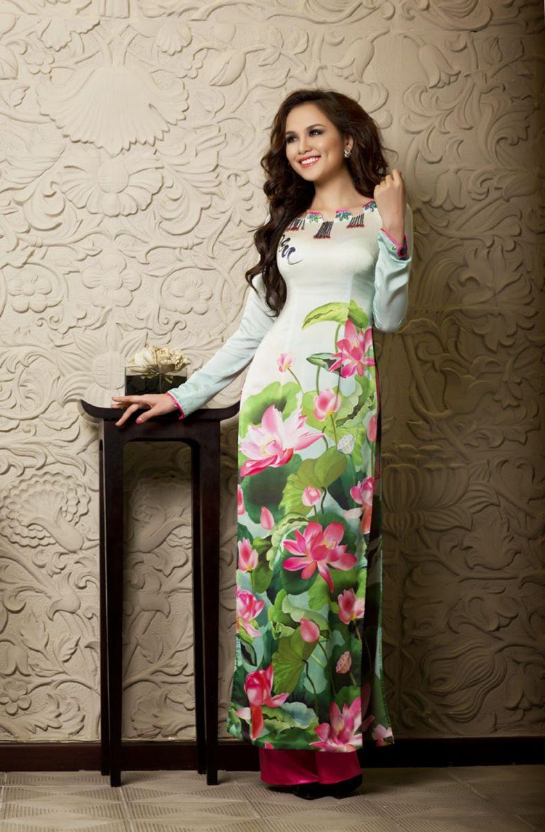 in áo dài truyền thống dân tộc cổ điển hiện đại cách tân đẹp nhất tại hà nội 2
