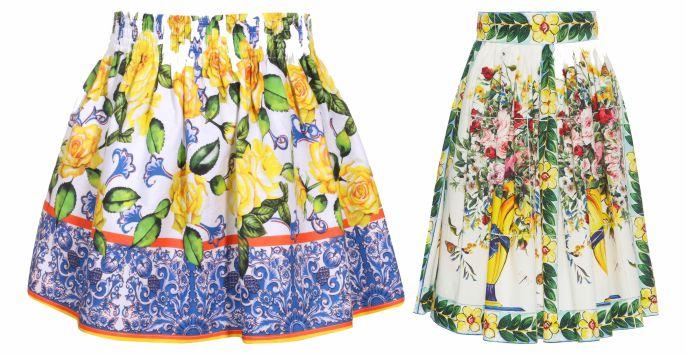 Xưởng in váy đầm hoa sặc sỡ sinh động - in Nhân Phúc