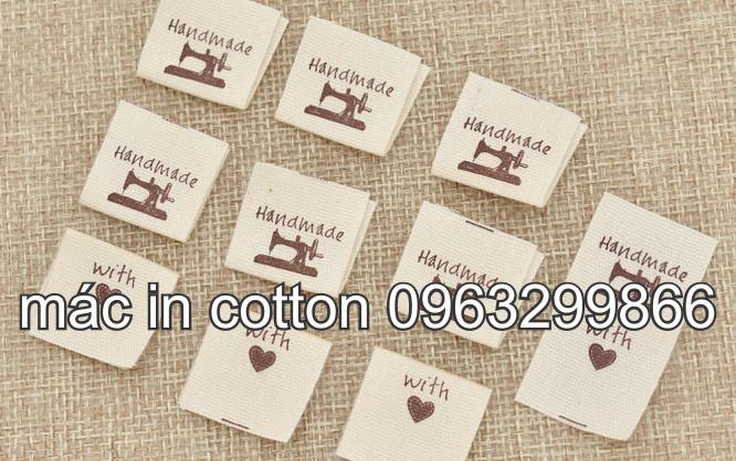Nhân Phúc 0963299866 thiết kế in sản xuất tem nhãn mác vải cotton màu trắng kem rẻ đẹp ở hoàn kiếm long biên thanh xuân hà đông gia lâm từ liêm