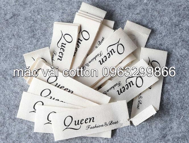 Nhân Phúc 0963299866 thiết kế in sản xuất tem nhãn mác vải cotton màu trắng kem rẻ đẹp ở sóc sơn tây hòa ninh bình thanh hóa nghệ an hà tĩnh quảng bình quảng trị