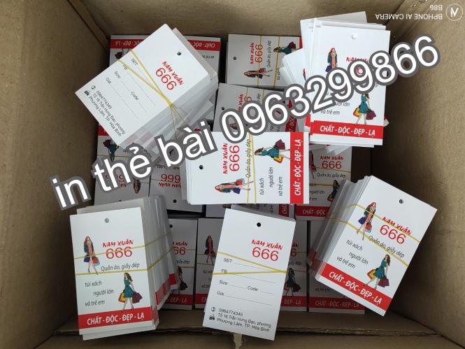 Nhân Phúc 0963299866 thiết kế in sản xuất tem nhãn mác tag giấy thẻ bài treo rẻ đẹp ở thanh xuân đống đa hai bà trưng long biên