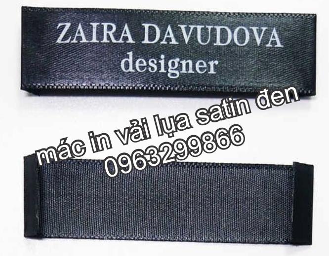 Nhân Phúc 0963299866 thiết kế in sản xuất tem nhãn mác vải lụa satin màu đen trắng rẻ đẹp ở hà nội tây hồ cầu giấy hai bà trưng
