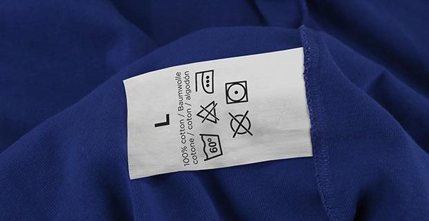 Nhân Phúc in dệt nhãn mác thành phần 100% Cotton