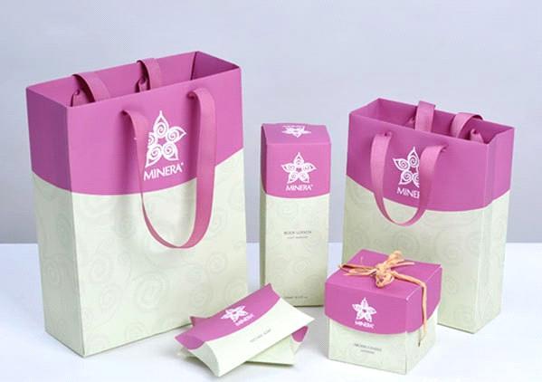 Túi giấy đựng hàng, quần áo, điện thoại giá rẻ, đẹp bền chắc