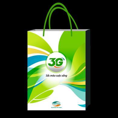 in túi giấy đựng điện thoại 3g